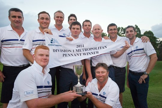 2014 Mona Vale Sydney Major Pennant Team