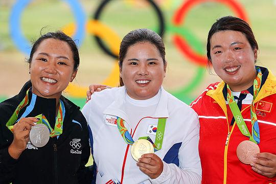 2016 Women's Olympics Golf Presentation