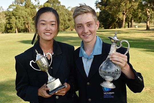 Kim, Kalz win 2017 Victorian Masters