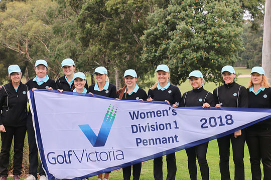 Commonwealth Women's Div 1 Pennant team