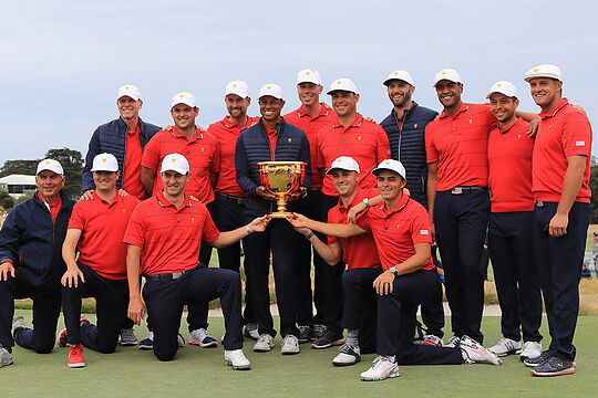 Team USA win the 2019 Presidents Cup