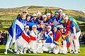 Europe dashes U.S. Solheim hopes on 18th hole