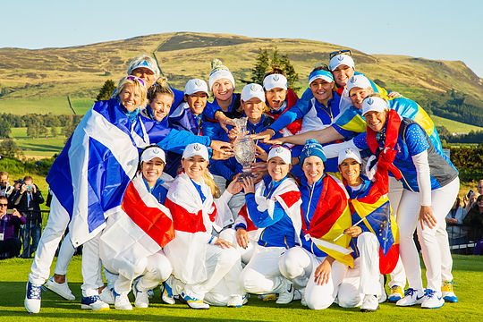 Team Europe - 2019 Solheim Cup winners
