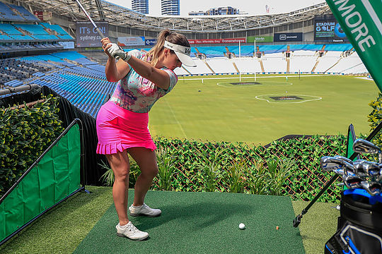 2020 G9 Stadium Golf tees off at ANZ Stadium