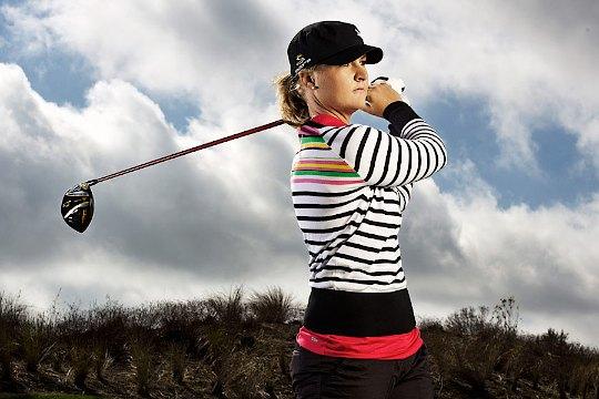 LPGA star Nordqvist signs with Cobra