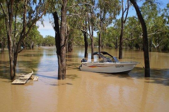 Baralaba Golf Club devastated by flood waters