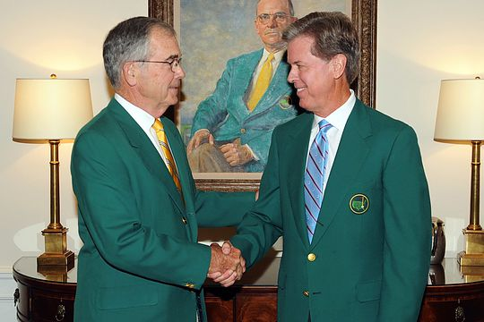 Billy Payne welcomes new Augusta National Chairman Fred Ridley