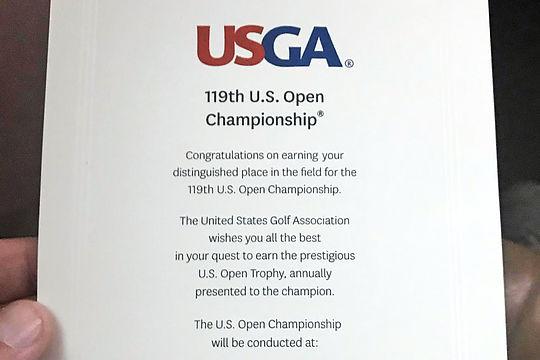 US Open Invitation