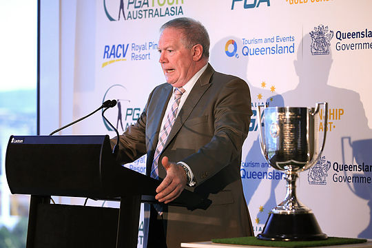 PGA of Australia CEO Brian Thorburn