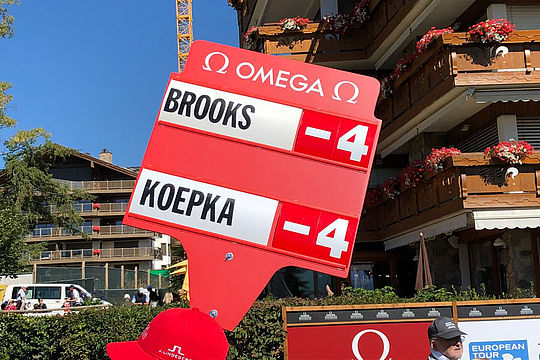 Brooks Koepka Double Take