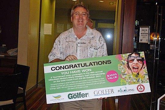 <strong>LUCKY WINNER:</strong> Burleigh Golf Club's Andrew McKerr