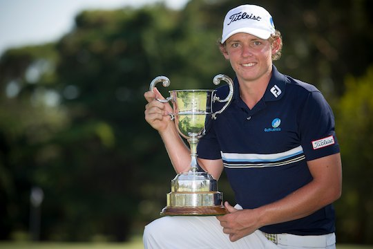 Cameron Smith, the 2013 Australian Amateur Champion (Photo: Anthony Powter)