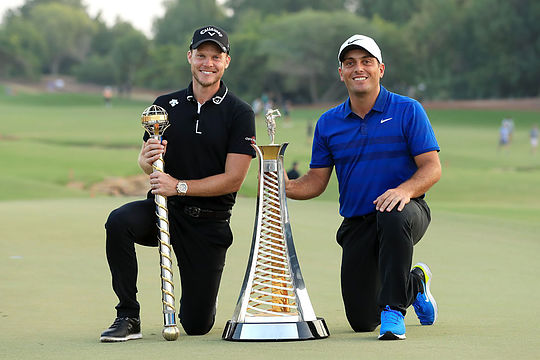 Danny Willett and Francesco Molinari