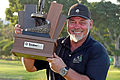 Darren Clarke ends 9-year drought, Leaney 10th