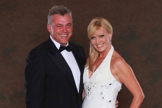 Darren Clarke and Alison Campbell