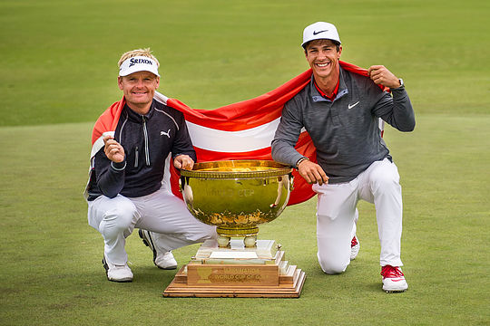 Soren Kjeldsen and Thorbjorn Olesen