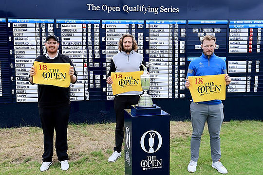 Deyen Lawson (L) has qualified for his first major