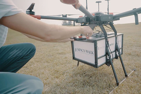 Food Cart Drone