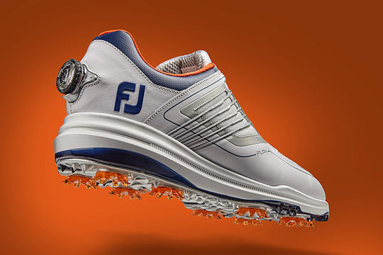 Footjoy FJ FURY White/Navy/Orange (BOA)