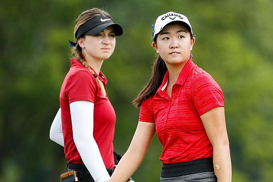 Gabi Ruffels and Rose Zhang
