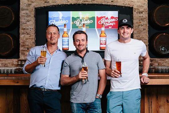 GolfBeer founders - Freddie Jacobsen, Graeme McDowell and Keegan Bradley