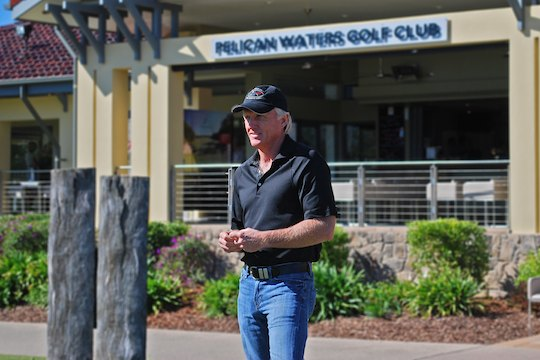 Greg Norman excited about Pelican Waters facelift