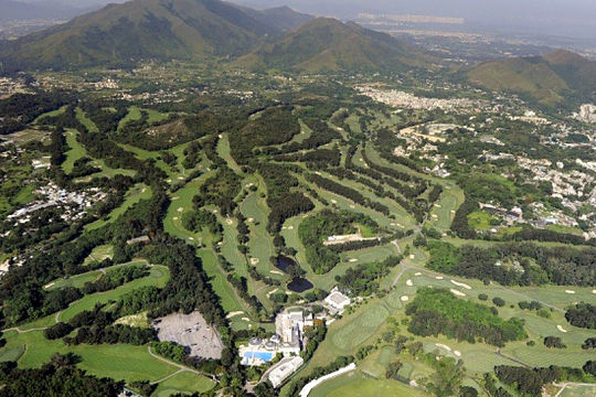 Hong Kong's Fanling Golf Course