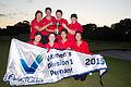 Huntingdale denies Victoria Women's Pennant Flag