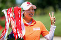 Kim's red-hot 64 robs Green of HSBC Women's title