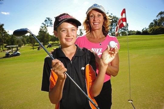 Sunshine Coast ace - 12-year-old Jack Trent