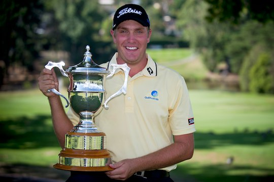 Jake Higginbottom, winner of the 2012 Riversdale Cup