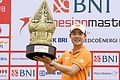 Thai star Jazz wins Indo Masters, Younger third