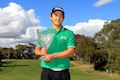 Jeong claims first pro title with Perth victory