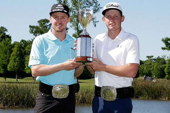 Jonas Blixt and Cameron Smith