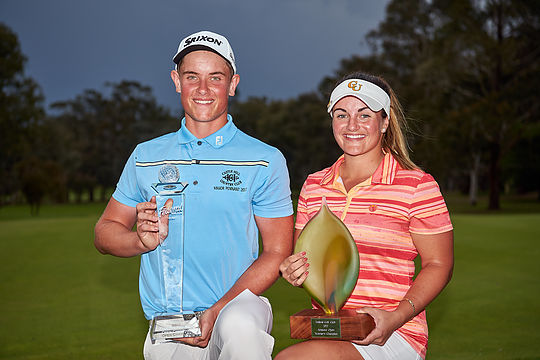 Jordan Garner and Tahlia Ravnjak won the Federal Amateur