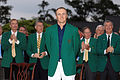 Masters champ Spieth to share locker with Palmer