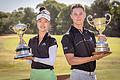 Kim, Dobbelaar secure Australia Amateur titles