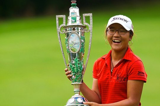Image result for Lydia ko wins 2012 amateur championship