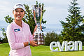 Ko etches her name into history with Evian win