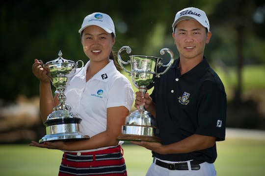 Minjee Lee and Tae Koh