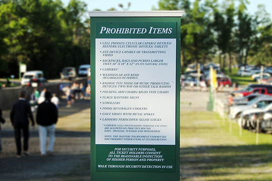 Mobile Phones Banned At Masters