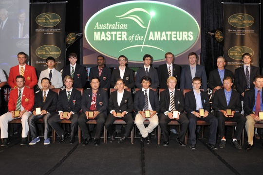 2013 Master of the Amateurs Team