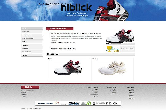 Niblick launches new website