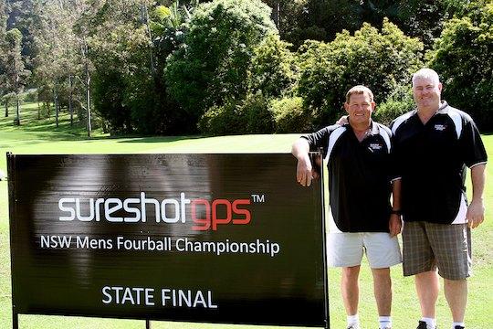 Mark Hoath (L) and Shane Swansborough (R)
