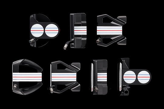 Odyssey Golf Triple Track Putter Family