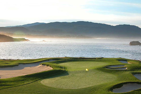 Pebble Beach 17th Hole