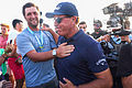 Mickelson's peer popularity on show after PGA win