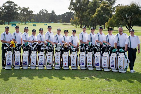 2011 Presidents Cup International Team