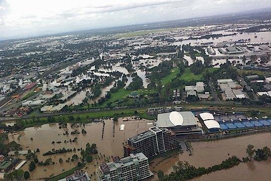 Brisbane Golf Club devastated by floods