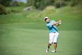 Hodge leads, Kato chases at Boys' Amateur